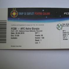 FCSB (Steaua)-Astra Giurgiu (28 aprilie 2019)