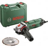 Polizor Bosch PWS 850-125 850W Verde