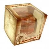 Puzzle din lemn Mini Diamond - Leonardo da Vinci