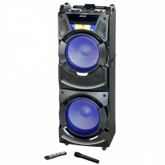 Boxa activa fixa Akai DJ-S5H Dual USB SD Bluetooth Wi-Fi 400W + Telecomanda