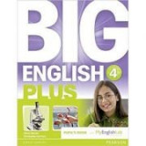 Big English Plus 4 Pupils' Book with MyEnglishLab Access Code Pack - Mario Herrera