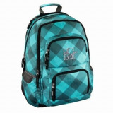 All Out - Rucsac scolar Louth Blue Dream Check, 13x45x31 cm