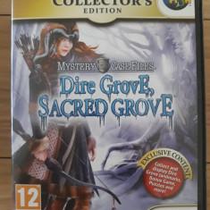 Mystery case files - Dire Grove,Sacred Grove -  PC DVD-ROM