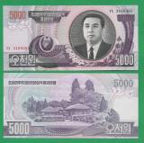 = COREA DE NORD - 5000 WON - 2006 - UNC   =