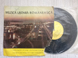 "muzica usoara romaneasca disc vinyl 10"" mijlociu EDD 1216 muzica pop compilatie"