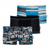 3 pack boxeri Blue, pentru baieti