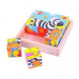 Puzzle cubic - safari, Bigjigs