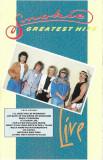 Caseta Smokie – Greatest Hits Live, originala