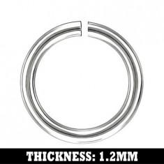 Verigă finală din oţel inoxidabil, 6 mm
