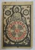 CALENDAR CRESTIN - ORTODOX , intocmit de monahul FIRMILIAN , FORMAT MIC , ANUL 1943