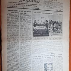 sportul popular 7 iulie 1953-record iolanda balas,hipism,handbal,cupa romaniei