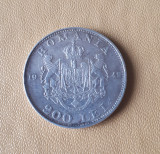 Romania - 200 Lei 1942, Argint