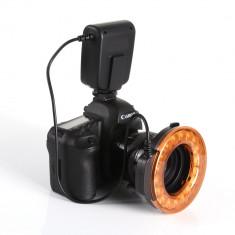 Macro Ring Flash Blitz MK-FC 110 pt. Nikon, Canon, Olympus, Panasonic etc., Circular