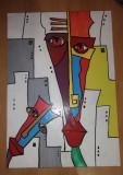 Tablou acrilic cubism