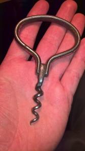Tirbuson vechi, metal cu marcaj DRGM