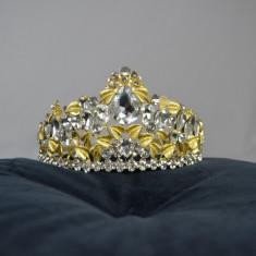 Coronita Mireasa Aurie cu piepten