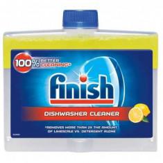 Solutie pentru curatat masina de spalat vase Finish Lemon 250 ml