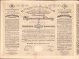 LA34 Lot 3 actiuni Magyar Jelzalog Hitelbank austro-ungare