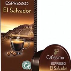 Capsule cafea Tchibo Cafissimo Espresso El Salvador 100% Arabica 10 buc