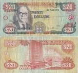 1995 ( 1 II ) , 20 dollars ( P-72e ) - Jamaica
