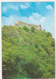Bnk cp Cetatea Poienari din Cheile Argesului - Vedere - necirculata - marca fixa, Printata, Arges