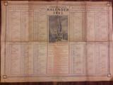 Evangelischer Kalender 1963 Hermanstadt Calendar evanghelic sasesc Sibiu