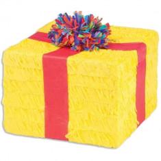 Pinata Cutie Cadou Happy Birthday, Amscan 9903133, 1 buc