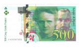 SV * Franta  500  FRANCS  1994  *  Marie & Pierre Curie  *  PRE EURO      +/- XF