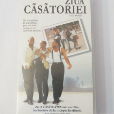 Caseta video VHS originala film tradus Ro - Ziua Casatoriei