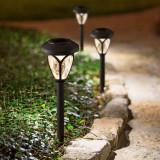 Lampa Solara LED tip Stalpisor cu Plexiglas, Inaltime 40cm