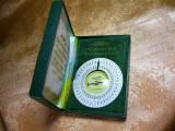 Islamica! Busola Qibla Mecca rugaciune Elvetia colectie cadou vintage