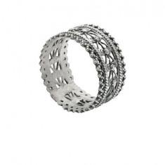 Set 6 inele argintate pentru servetele Sheffield By Chinelli Cod Produs 1205