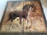 Table (joc de Table) - Lux lemn lacuit, model cai