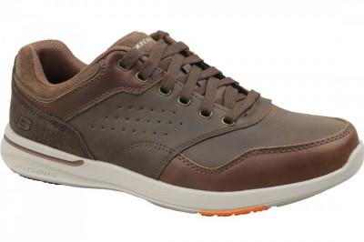 Pantofi sport Skechers Elent Velago 65406-BRN pentru Barbati foto