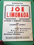 Afis vechi de cinematograf, afis de colectie perioada comunista