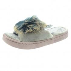 Papuci de casa pentru fetite NN GP19-GY1823-MA, Maro