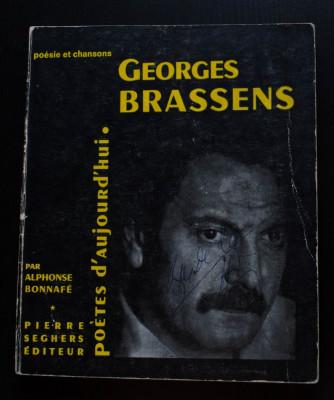 "Alphonse Bonnafe - Georges Brassens (col. ""Poetes d'aujourd'hui"") foto"