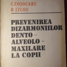 PREVENIREA DIZARMONIILOR DENTO-ALVEOLO-MAXILARE LA COPII - P. FIRU, C. COJOCARU,
