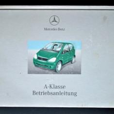 Carte tehnica Auto, Instructiuni de utilizare: Mercedes A Class (lb. germana)