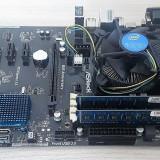 KIT PLACA DE BAZA ASROCK B85-ANNIVERSARY SOCKET 1150+CPU+4 GB DDR3, CU GARANTIE!, Pentru INTEL, LGA 1150, DDR 3