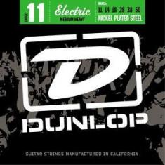 Corzi chitara electrica Dunlop Nickel Plated Steel 11 - Medium Heavy 11-50