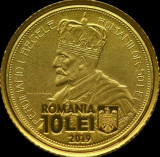 Moneda aur 24 k - 10 lei Istoria aurului, Regele Ferdinand