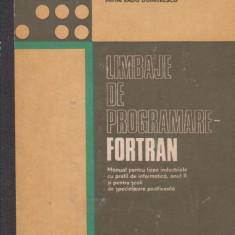 Limbaje de programare - Fortran