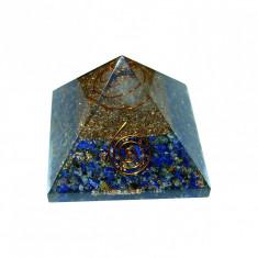 Piramida generatoare de energie_obiect de decor_Lapis Lazuli