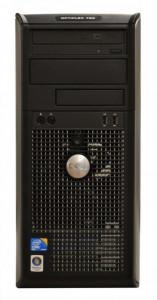 Calculator DELL Optiplex 780 Tower, Intel Core 2 Duo E7500 2.93 GHz, 4 GB DDR3, 250 GB HDD SATA, DVD-ROM