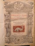 Zasius_Opera juridica_UDALRICI ZASII DOCT. CLARISS._Lyon_Lugduni_1548
