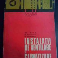Instalatii De Ventilare Si Climatizare - Gh. Duta N. Niculescu P. Stoenescu ,548035