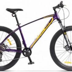 Bicicleta Pegas Drumuri Grele 18.5, Cadru 18.5inch, Roti 27.5inch, 10 Viteze (Mov)