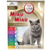 Asternut Silicat Clumping Miau-Miau 5 L