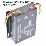 Convertor Tensiune 24V 12V Putere 30A